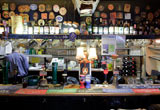 The bar at the Duke of York, Iddesleigh