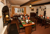 The dining rooms at the Duke of York, Iddesleigh